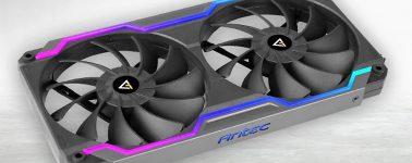 Antec Prizm Cooling Matrix: 2 ventiladores de 120 mm combinados con un marco RGB
