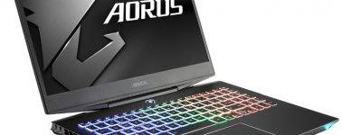 Aorus 15 X9-7DE0250W: 15.6″ @ 144 Hz con 6 núcleos y una GeForce RTX 2070 MaxQ