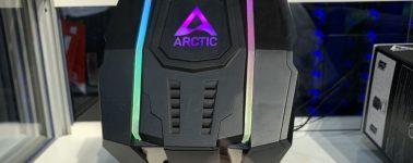 Arctic Freezer 50 TR: 8x heatpipes de cobre para disipar un Threadripper de forma semi-pasiva