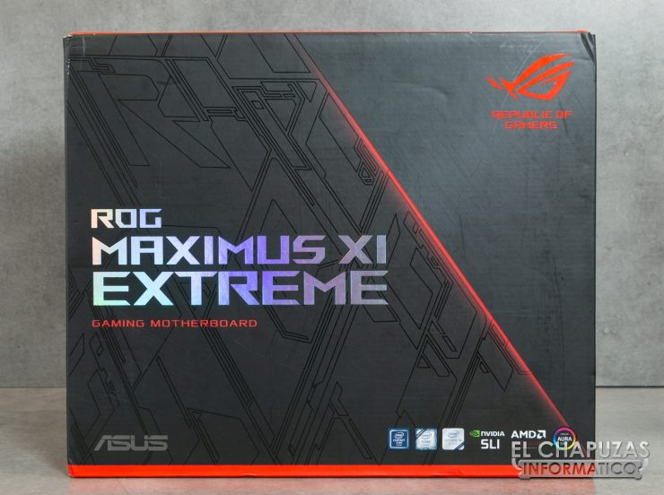 Asus ROG Maximus XI Extreme Embalaje Frontal