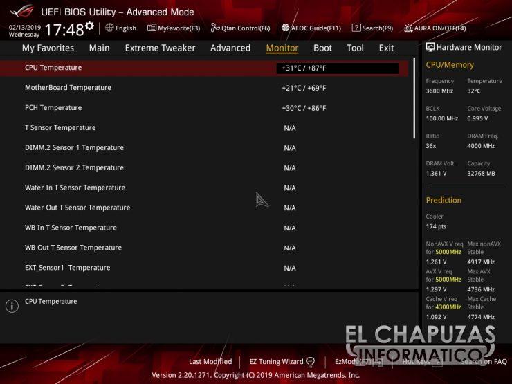 Asus ROG Maximus XI Extreme BIOS 5 740x555 42