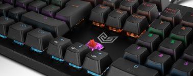 BG Gaming Raven: Teclado mecánico con iluminación RGB por 29.90 euros