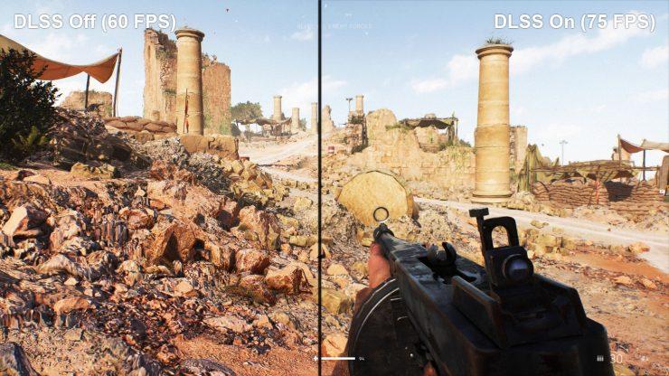 Battlefield V sin y con DLSS 1 740x416 1