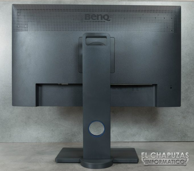 BenQ PD2700U Lado Trasero