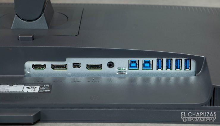 BenQ PD2700U Conectividad