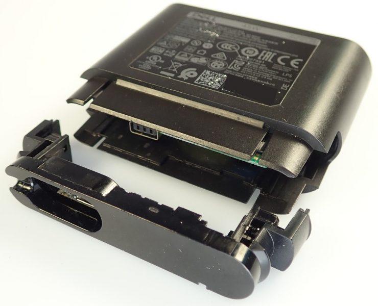 Cargador híbrido de Dell defectuoso