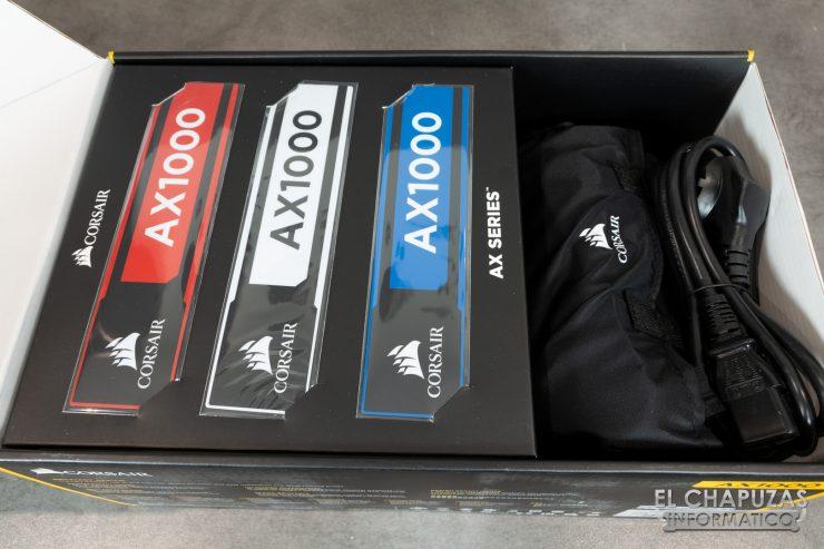 Corsair AX1000 Embalaje Interior