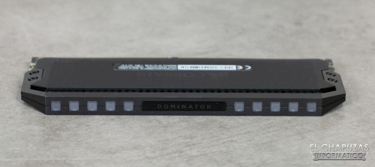 Corsair Dominator Platinum RGB Disipador Superior