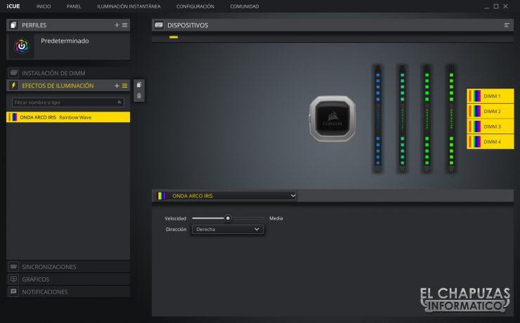Corsair Dominator Platinum RGB Software 2