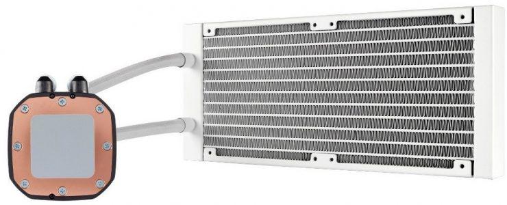 Hydro H100i Platinum SE - Radiador