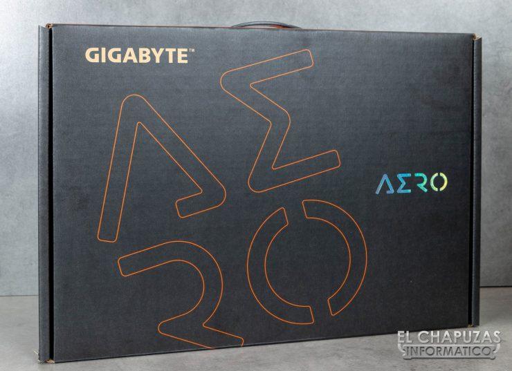 Gigabyte Aero 15-X9 Embalaje 1