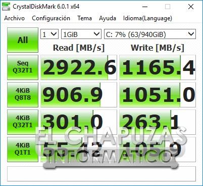 Gigabyte Aero 15-X9 CrystalDiskMark