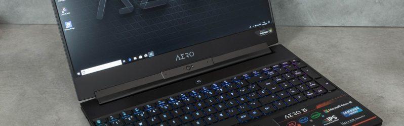 Review: Gigabyte Aero 15-X9 (15,6