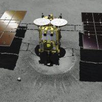 La sonda japonesa Hayabusa 2 aterriza con éxito sobre el asteroide Ryugu