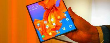 El smartphone plegable de Huawei, el Mate X, llegaría en Octubre