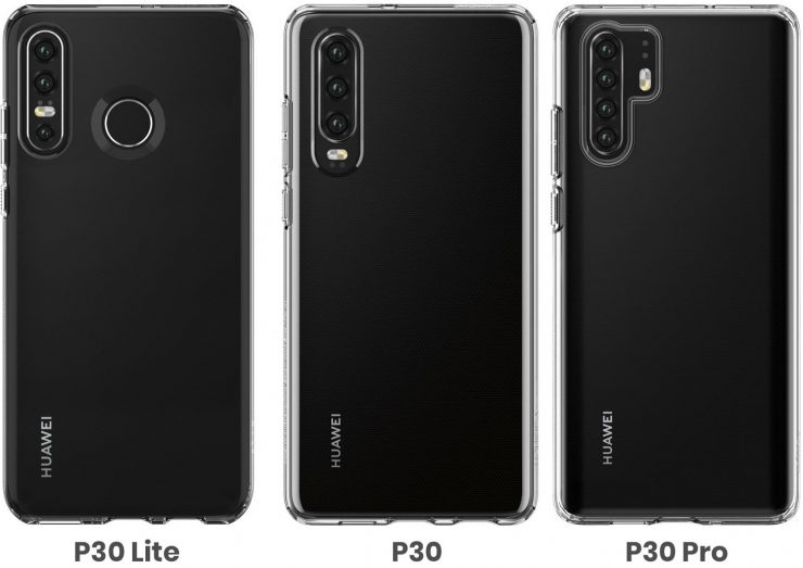 Huawei P30 Lite vs Huawei P30 vs Huawei P30 Pro