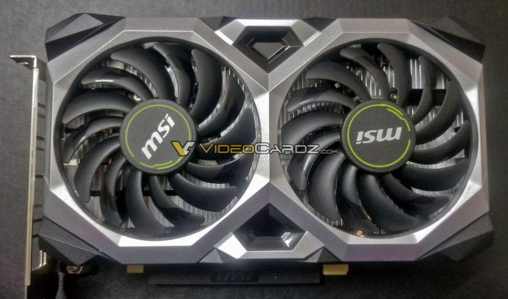 GeForce GTX 1660 Ti Ventus XS