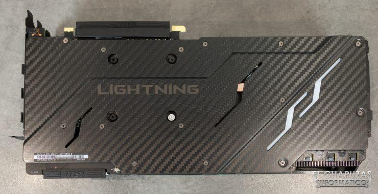 MSI GeForce RTX 2080 Ti Lightning Z Backplate