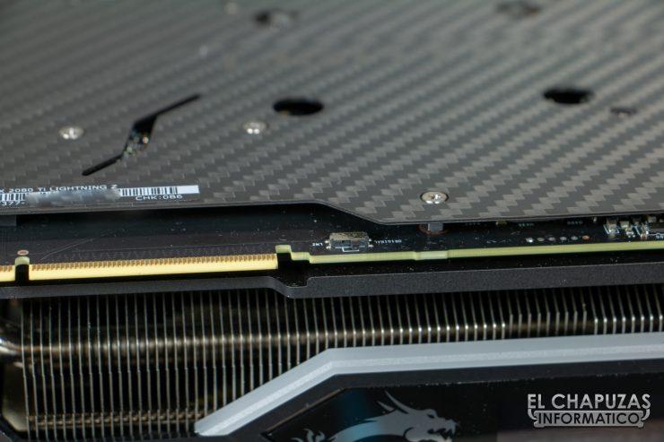 MSI GeForce RTX 2080 Ti Lightning Z Interruptor BIOS