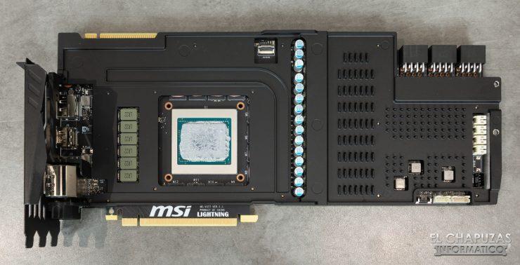 MSI GeForce RTX 2080 Ti Lightning Z Frontplate