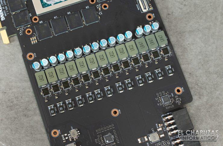 MSI GeForce RTX 2080 Ti Lightning Z VRM