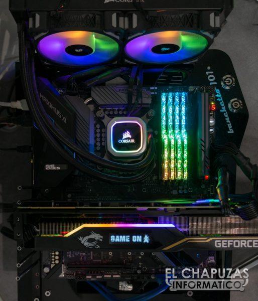 MSI GeForce RTX 2080 Ti Lightning Z Equipo de Pruebas 1