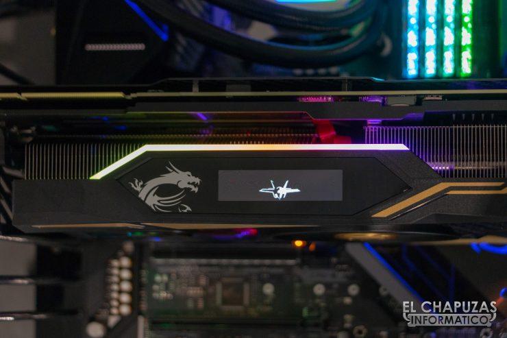 MSI GeForce RTX 2080 Ti Lightning Z Pantalla OLED