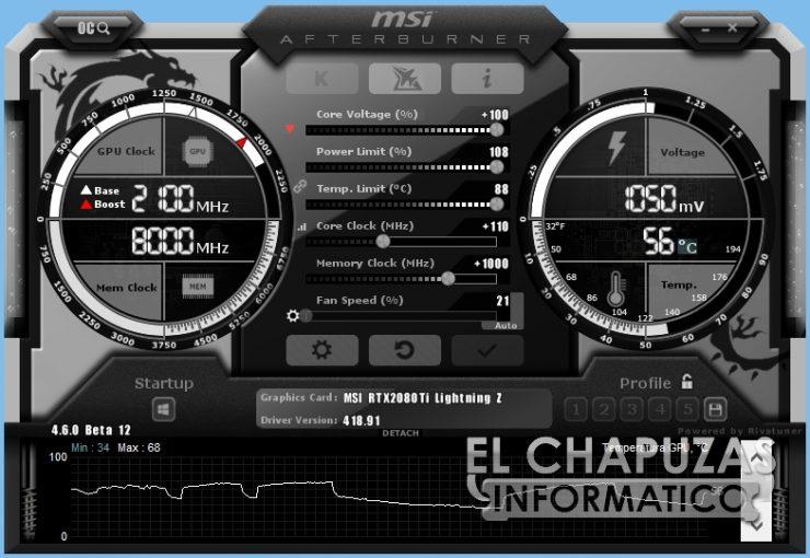MSI GeForce RTX 2080 Ti Lightning Z Afterburner