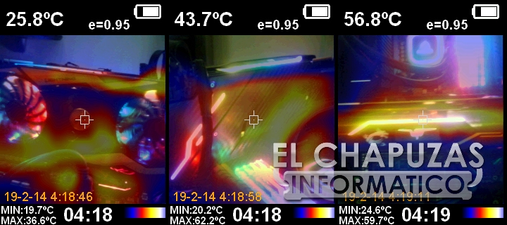MSI GeForce RTX 2080 Ti Lightning Z Cámara Térmica