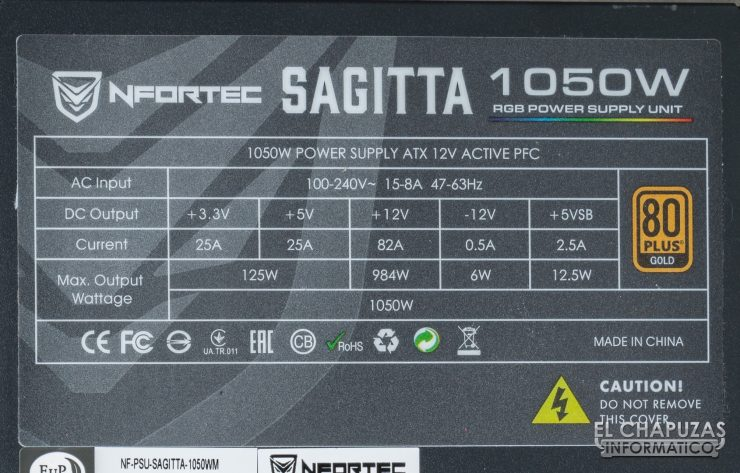 Nfortec Sagitta Pegatina