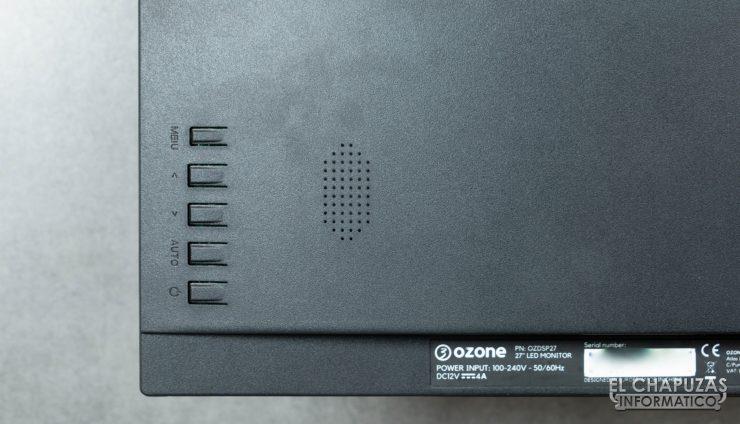 Ozone DSP27 Botones
