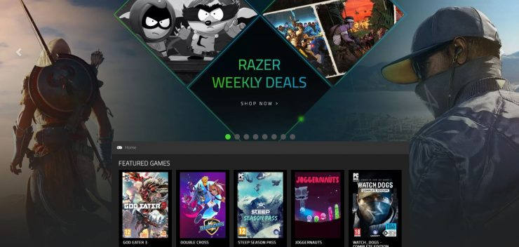 Razer Game Store 740x352 0