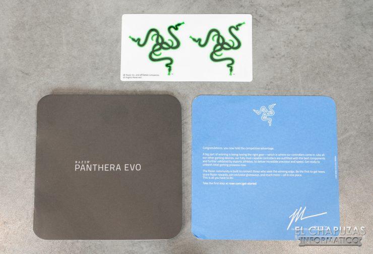 Razer Panthera EVO Vista Documentación