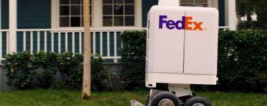 FedEx muestra a SameDay Bot, su robot de envíos de corta distancia