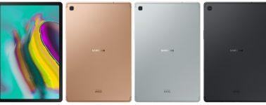 Samsung Galaxy Tab S5e: Tablet con panel AMOLED de 10.5″ y solo 5.5 mm de grosor