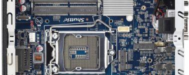Shuttle XPC Slim DH370: Barebone de 1.3L diseñado para soportar CPUs de 6 núcleos