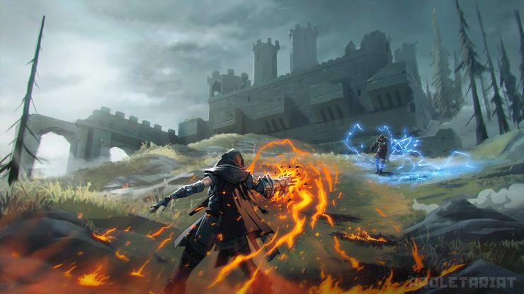 Battle Royale magos Spellbreak