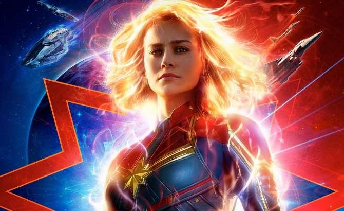 Capitana Marvel Disney+ Netflix