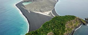 'Hung Tonga-Hunga Ha'apai', la extraña isla que emergió en el Pacífico hace cuatro años
