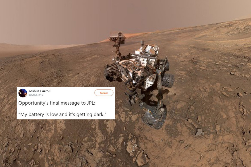 mars rover opportunity final message - photo #22