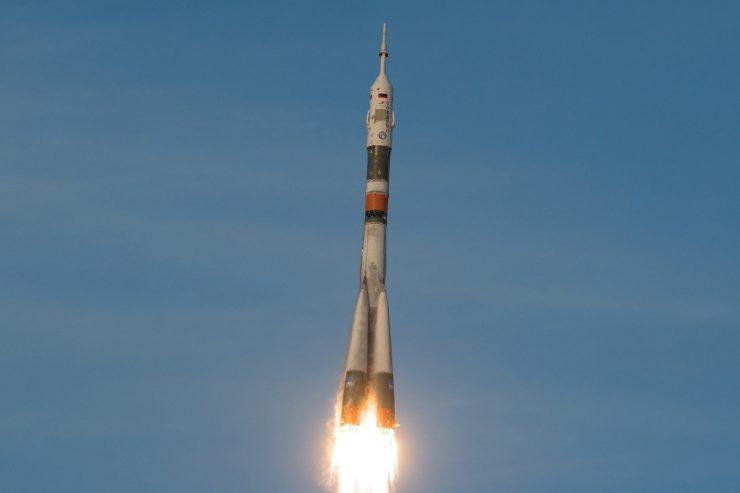Cohete ruso Soyuz Rusia
