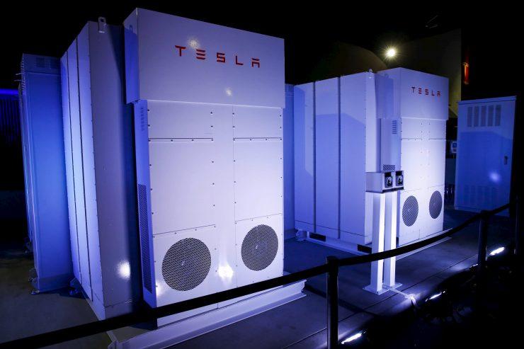Tesla powerpack Volkswagen