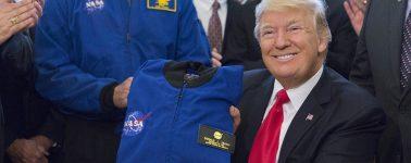 Donald Trump insiste en la creación de la Fuerza Espacial, será parte de la Fuerza Aérea