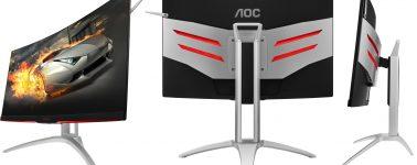 AOC AGON AG272FCX6: Panel MVA Full HD de 27″ @ 165 Hz con iluminación RGB