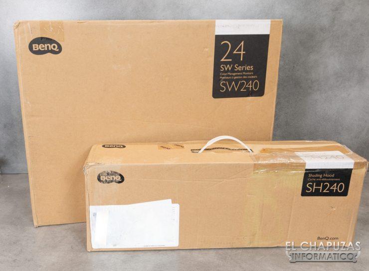 BenQ SW240 - Embalaje 1