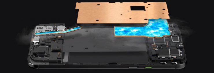 Refrigeración Xiaomi Black Shark 2