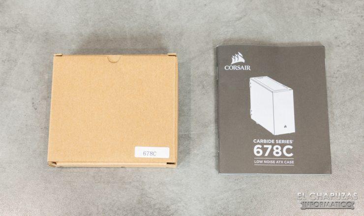 Corsair Carbide 678C - Accesorios 1