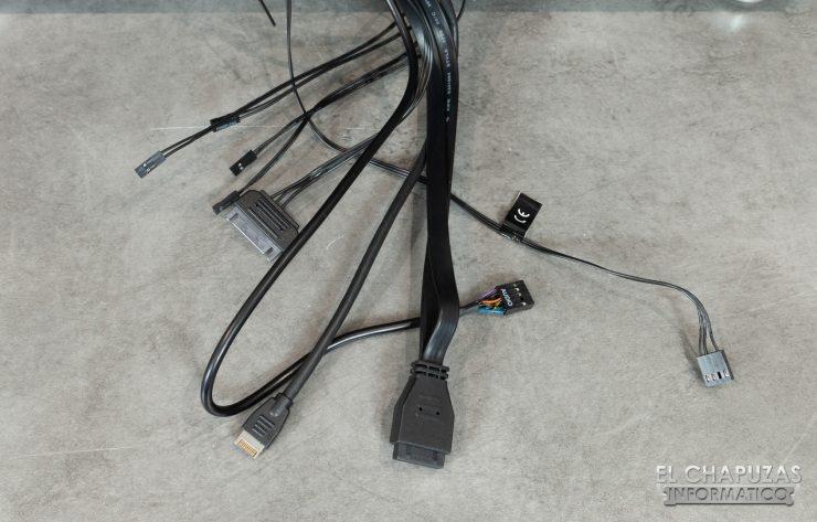 Corsair Carbide 678C - Cableado