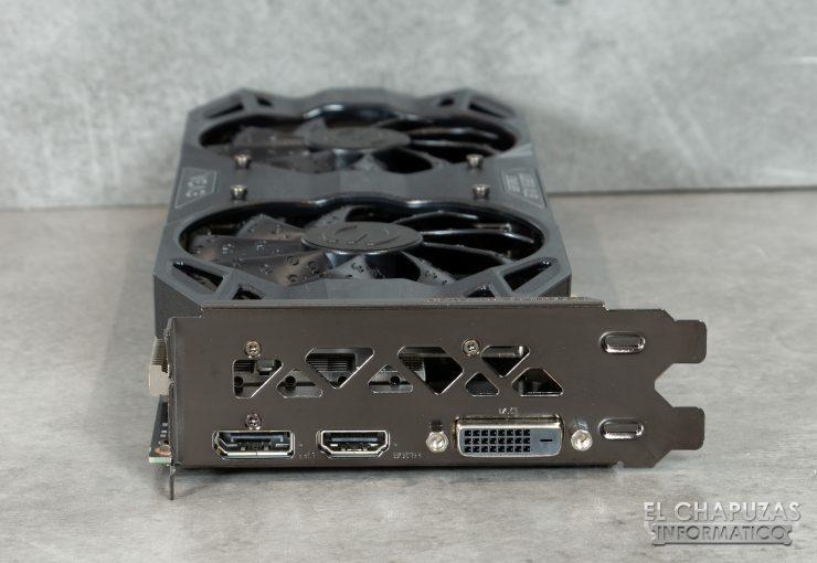 EVGA GeForce GTX 1660 Ti XC Ultra Conectores