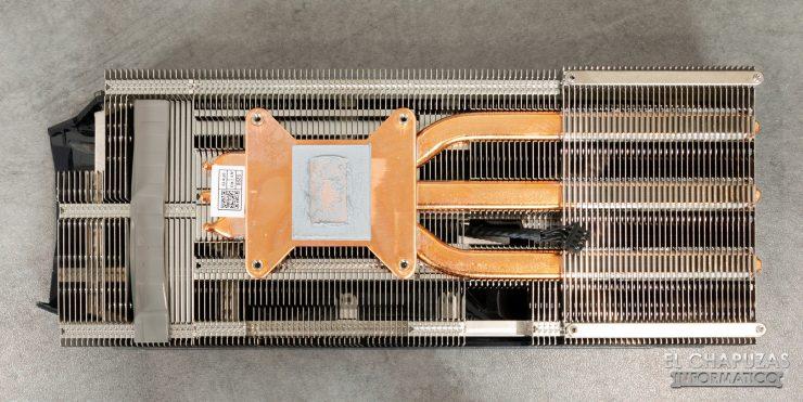 EVGA GeForce GTX 1660 Ti XC Ultra Disipador Desmontado